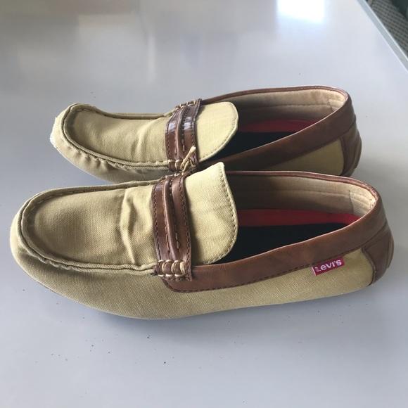 Levis Comfort Slip On Loafers Moccasin khaki  11